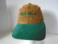 Club Med Sandpiper Bay Florida Hat Baseball Cap Suede Ski Country Imports