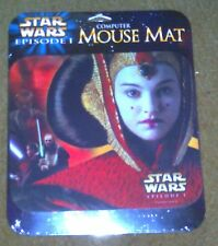 Star Wars Episode 1 Queen Amidala Computer Mouse Mat Pad NEW & SEALED NOS