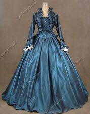 Victorian Princess Civil War Dickens Faire Dress Theatrical Comic Con Gown 170