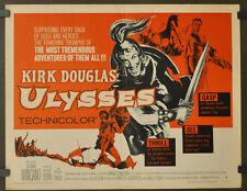 Ulysses R1960 Orig 22X28 Film Poster Kirk Douglas Silvana Mangano Anthony Quinn