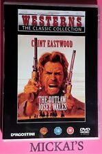THE OUTLAW JOSEY WALES - WESTERNS THE CLASSIC COLLECTION WTCCN12 OOP DVD PAL