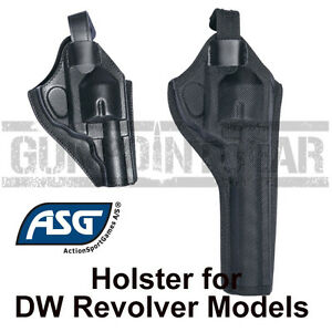 """ASG Strike Systems Dan Wesson Airsoft Revolver Holster 2.5"""" / 4""""  6"""" /8"""" Version"""