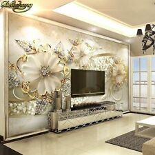 3d Stereo Living Room Sofa Background Wall Paper Bedroom Wallpaper Large Murals