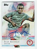 2012 Topps USA Olympic Team Autograph #2 Juan Agudelo Soccer
