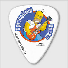 5 x Grover Allman The Simpsons Springfield Rocks Guitar Picks *NEW* Plectrums
