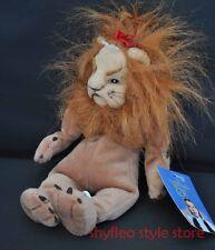 Cowardly Lion Bean Bag Warner Bros Wizard of Oz Plush Toy Tag Soft Doll 1998 NWT