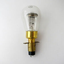 Ne42 giant neon bulb + Western Electric socket 3.5 watt orange glow lamp Ne-42