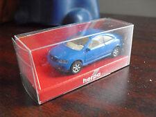 Herpa Ho 1/87 Blue Opel Coupe Car Nip