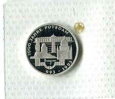 DM 10 Germania 1993 F 1000 anni Potsdam Argento PP m_1020