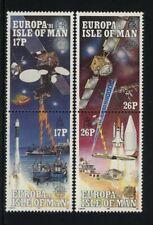 ISLE OF MAN, SCOTT, HINGED # 468-71, EUROPA 1991