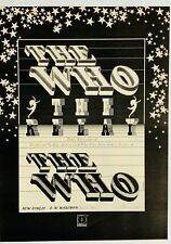 THE WHO 1972 vintage POSTER ADVERT RELAY Pete Townshend Daltrey