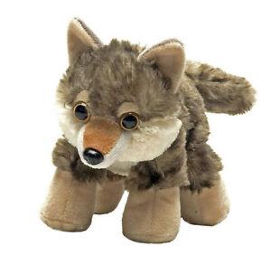 "Hug'ems Wolf Pup Hugems stuffed animal 7""/17cm Wild Republic - NEW"