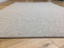 Crucial Trading Rug Wool White Stripe Quality Binding 120x180
