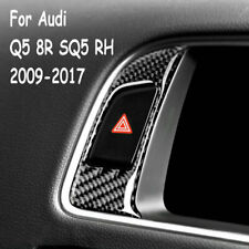 For Audi Q5 8R SQ5 2009-17 Carbon Fiber Display Center Control Screen Sticker RH