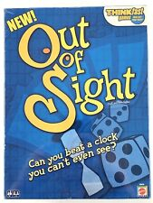 Think Fast Out Of Sight Game Quick Wits Beat The Clock Mattel Games