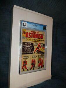 Tales to Astonish # 43 CGC (8.0) Ant-Man  1963