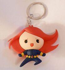 Marvel Figural Keyring Keychain Black Widow Series 1 Mint Oop