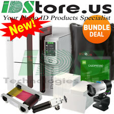 Evolis Primacy Expert LCD Single Side Complete Photo ID Card Printer System