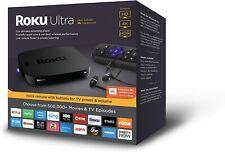Roku Ultra HD/4K/HDR Streaming Media Player Premium JBL Headphones + EVO SD 64GB