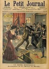 ARRESTATION MARIE THÉRESE GOURDON HOTEL FOLIE SAINT ELOI PARIS REUILLY   1903