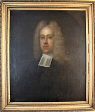 Antique Oil on Canvas painting 1700s Portrait of a Gentleman British School