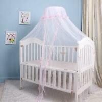 Baby Infant Bed Mosquito Net Mesh Dome Curtain Net for Toddler Crib Cot Canopy