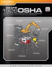 29 Cfr 1926 Osha Construction Industry Regulations by MANCOMM