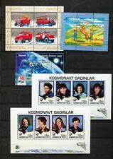 Azerbaijan 2005/6 Fire Engines Space Blocks x 5  MNH  (NT 5523