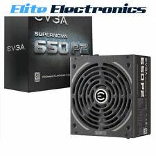 EVGA 650W SUPERNOVA P2 80+ PLATINUM PSU PC POWER SUPPLY UNIT MODULAR 150MM