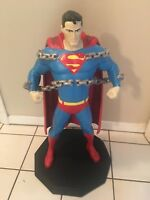 2001 Warner Bros Studio Store Exclusive Superman statue!!! Justice league statue