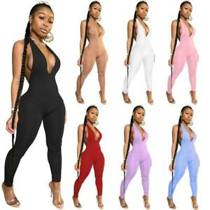 Women Casual Fitness Sporty Rompers Sleeveless Zipper Active Wear Outfit