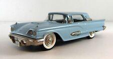 1959 Ford Thunderbird Brooklin Models Brk - 64 Light Blue 1/43 scale
