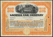 USA: Laconia Car Co., <100 shares, 1929