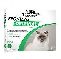 FRONTLINE Original for Cats & Kittens 4 Pipettes by Merial Flea Treatment