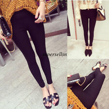 Women Casual High Waist Stretch Skinny Long Pencil Pants Trousers Jegging S-2XL