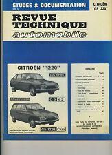 (48B) REVUE TECHNIQUE AUTOMOBILE CITROEN GS 1220 - GS X2 - GS 1220 CLUB