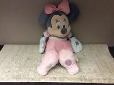 "Official Disney Store Large Minnie Mouse Soft Plush  Teddy Doll 23"" Grey 💕💕💖"