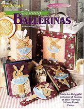 Bunny Ballerinas by Carolyn Christmas (1994, TNS Plastic Canvas Booklet)