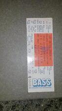 Led Zeppelin ticket unused,