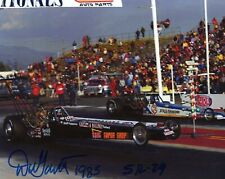 DON GARLITS HAND SIGNED 8x10 COLOR PHOTO+COA    AWESOME NHRA DRIVER    BIG DADDY