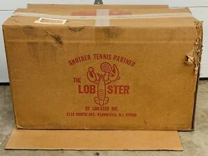 New Open Box ! Lobster Portable Tennis Ball Machine model 101 - Fast Shipping !!