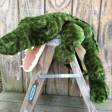 "40"" Plush Alligator Crocodile Gator Animal Alley Toys 'R Us 2000 Commonwealth"