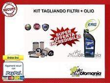 KIT TAGLIANDO OLIO MOTORE 10W40 + FILTRI FIAT 600 SEICENTO