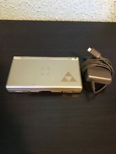 Nintendo DS Lite Legend of Zelda Phantom Hourglass Gold Console+Charger