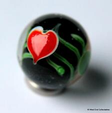 22mm Fatto A Mano San Valentino Cuoricini Bicchiere Marble & Supporto Bomboniera