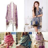 Womens Lady Long Soft Warm Cashmere Scarf Wrap Large Winter Shawl Stole Pashmina