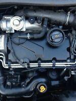 2005 MK5 VW GOLF 1.9 TDI GEARBOX GQQ JCR CODE 5 SPEED MANUAL BXE BKC 71k mileage