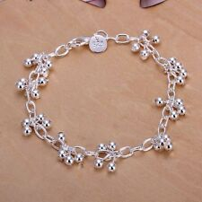 Fashion 925 Silver plated Jewelry Bright Grape Bracelet For Women H085