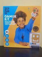 Tech Will Save Us Gamer Kit Build and Code Your Own Handheld Games Console New