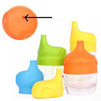 5 Pack Healthy Silicone Sippy Cup Lids Lab Tested Spill Proof FDA Approved US